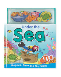 Under The Sea Magnetic Play Book