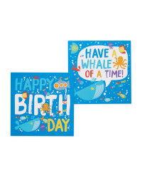 Underwater Birthday Cards 10-Pack