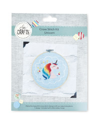 So Crafty Unicorn Cross Stitch Kit