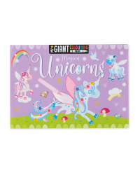 Unicorn Giant Colouring Poster Pad