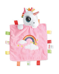 Nuby Unicorn Head Cuddle Comforter