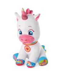 Plush Unicorn Interactive Baby Toy