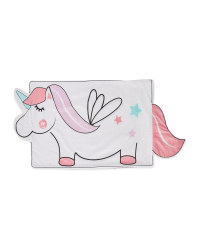 Unicorn Shaped Pillowcase