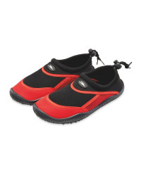 Crane Kids Red/Black Aqua Shoes