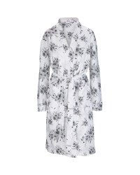 Ladies Floral Waffle Dressing Gown