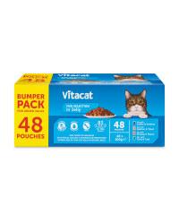 VITACAT Cat Pouch Bumper Pack Fish