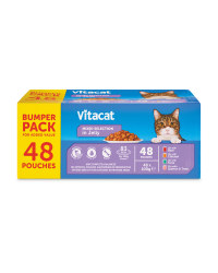VITACAT Cat Pouch Bumper Pack Mixed