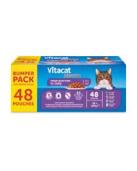 VITACAT Cat Pouch Bumper Pack Senior