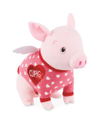 Valentine's Cupig Soft Toy