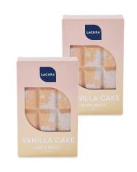 Vanilla Cake Bath Brick 2 Pack