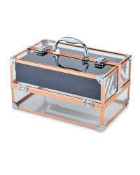 Avenue Vanity Case - Rose Gold