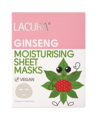 Ginseng Root Natural Sheet Masks