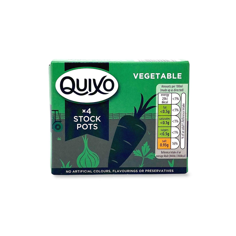 4 Vegetable Stock Pots