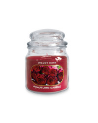 Scentcerity Velvet Rose Jar Candle