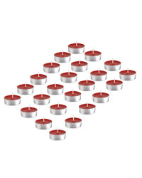 Scentcerity Rose Tea Lights 24 Pack