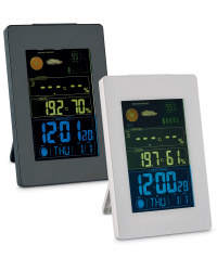 Vertical LCD Weather Station