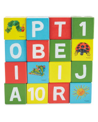Hungry Caterpillar Wooden Blocks
