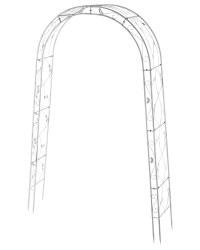 Vintage White Garden Arch