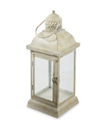 Vintage White Outdoor Lantern