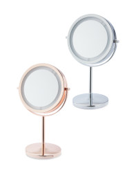 Visage Illuminated Table Mirror