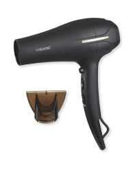 Visage Ionic Hairdryer - Black/Chrome