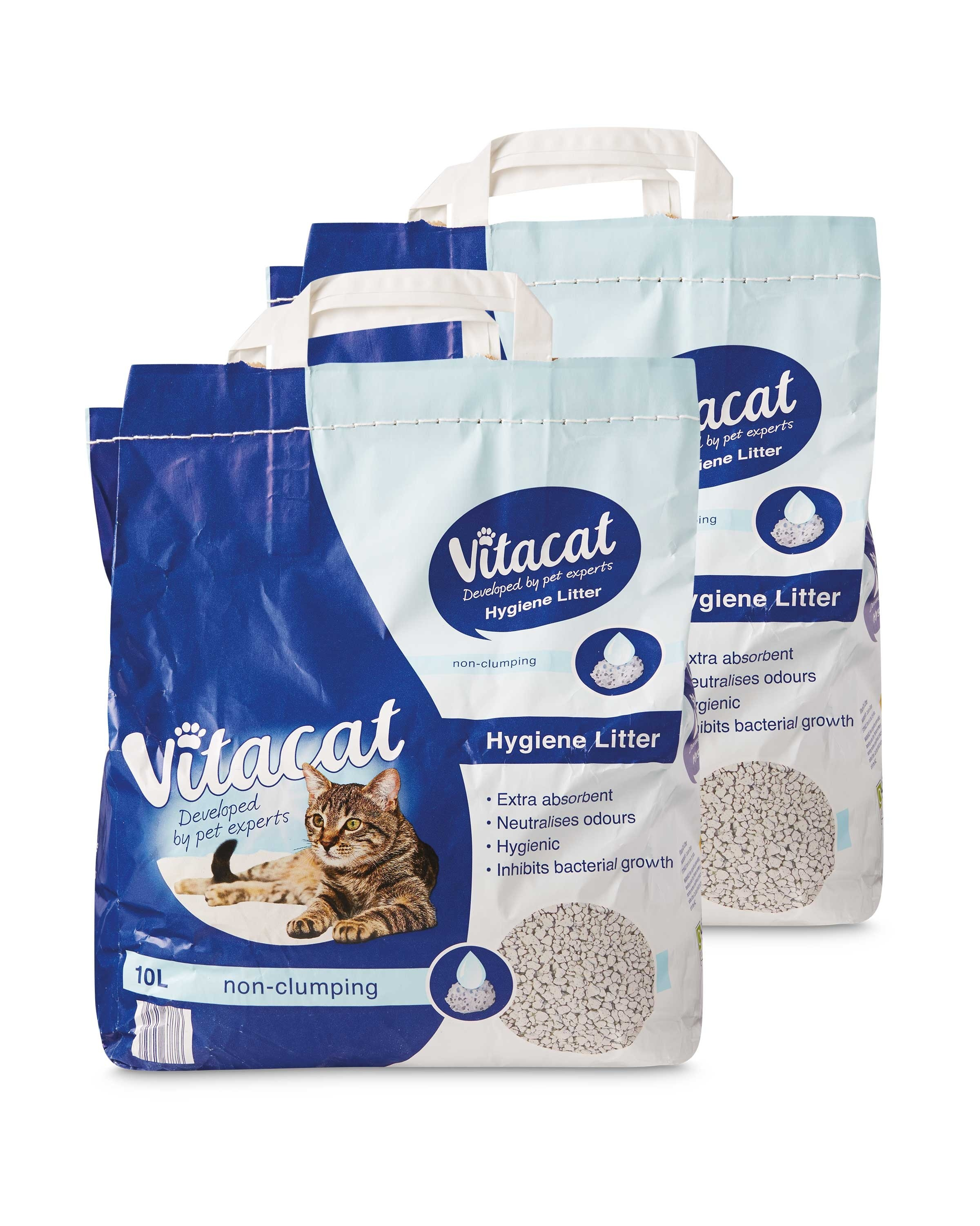 Vitacat Premium Cat Litter 20l Aldi Uk