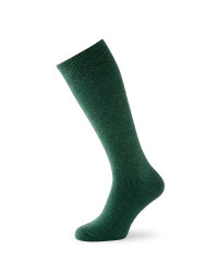 Wader Twist Wool Fishing Socks - Green