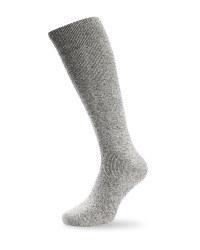 Wader Twist Wool Fishing Socks - Grey