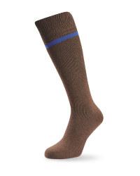 Wader Wool Fishing Socks - Brown