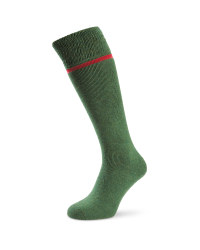 Wader Wool Fishing Socks - Green