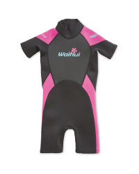 Crane Children's Shorty Wetsuit - Pink