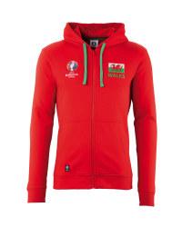Wales UEFA 2016 Zipped Hoody