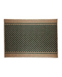 Washable Teal Green Utility Mat