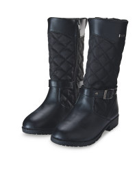 Lily & Dan Quilted Boots