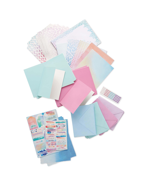 Watercolour Card Making Kit