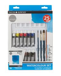 Watercolour Daler Rowney Art Set
