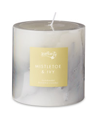 Wax Inclusion Mistletoe Candle