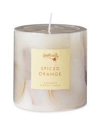 Wax Inclusion Spiced Orange Candle