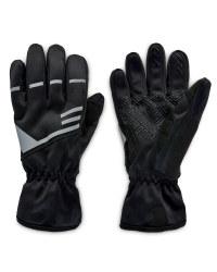Crane Weatherproof Cycling Gloves - Black
