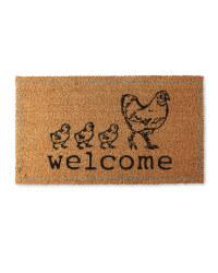 Welcome Chicks Coir Mat