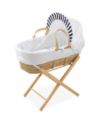 Mamia Whale Moses Basket With Stand