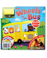 Wheels on the Bus Board and Book