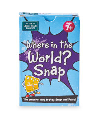Where in the World Snap Cards