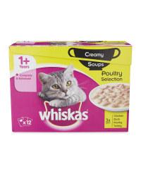 Whiskas Poultry Cat Soups