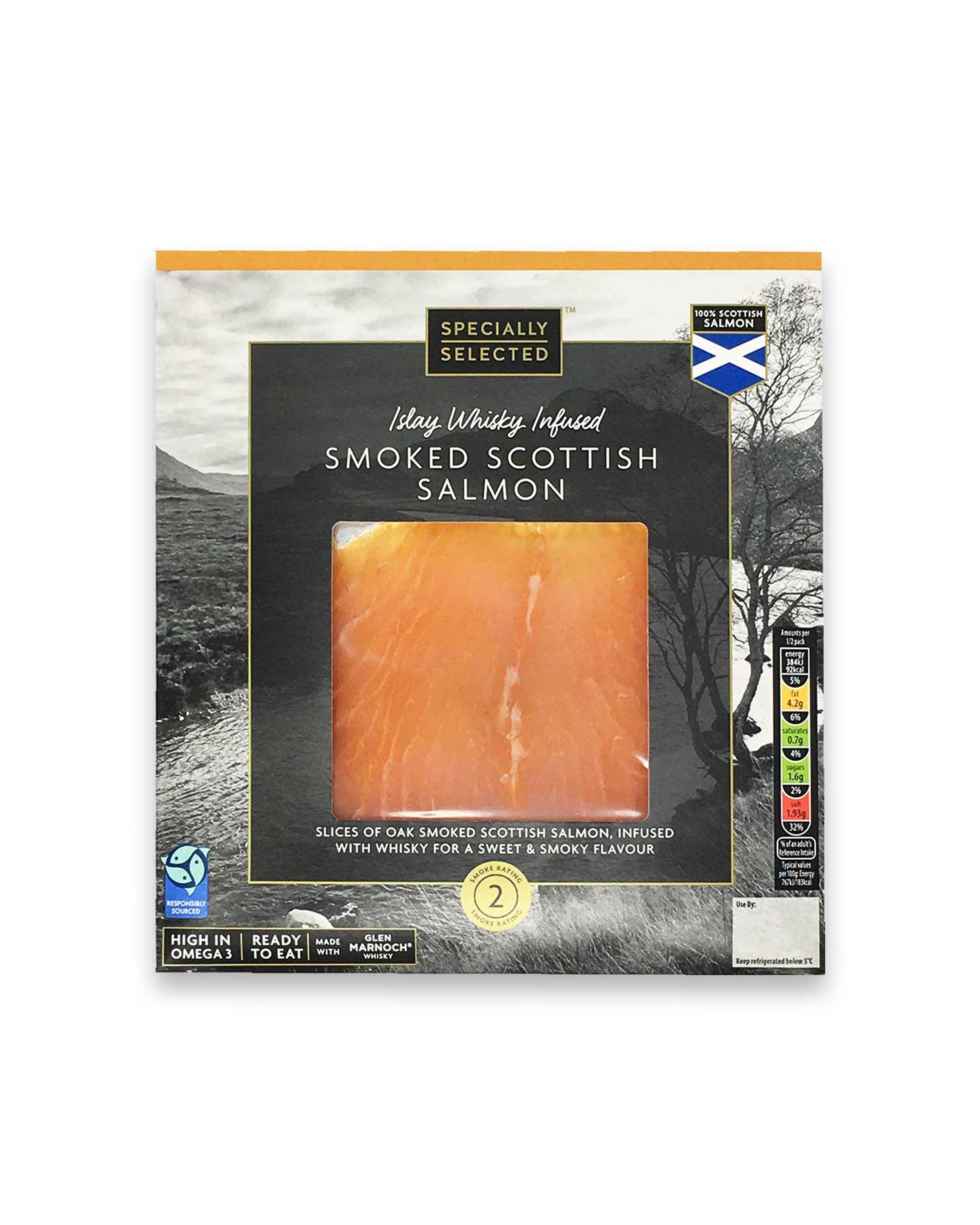 Whisky Infused Smoked Salmon