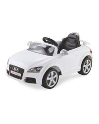 White Audi TT RS 6V Ride On Car