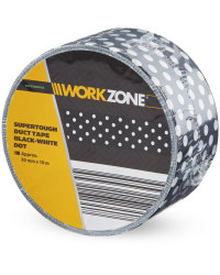 White Dot Supertough Duct Tape