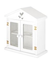 White Heart Egg Storage House