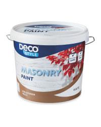 Deco Style White Masonry Paint