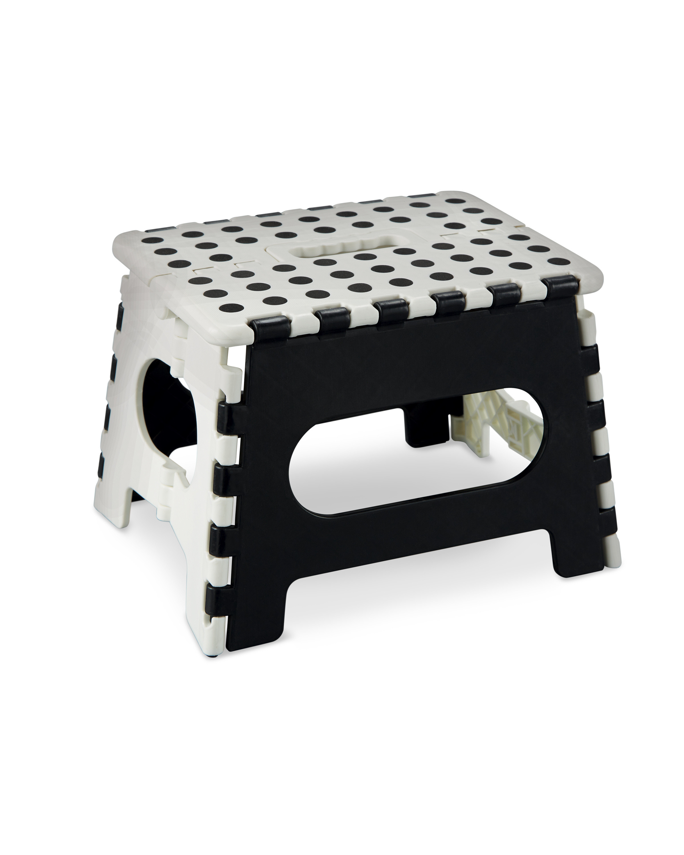 Strange White And Black Folding Step Stool Ibusinesslaw Wood Chair Design Ideas Ibusinesslaworg